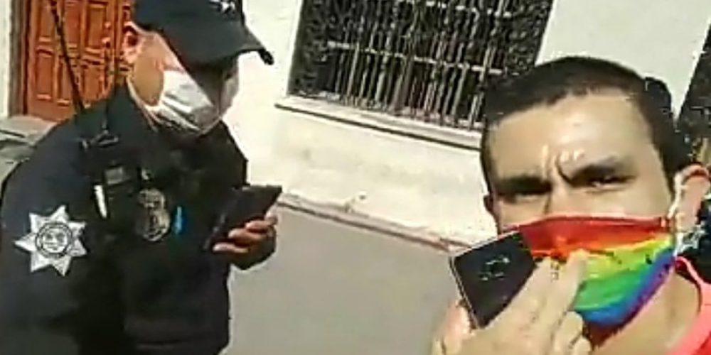 Arrestan a activista LGBT en las instalaciones de la Arquidiócesis de Monterrey