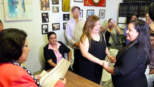 Se realiza primer matrimonio igualitario en Nuevo León