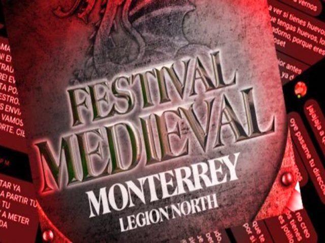 Denuncian mensajes de odio, acoso y amenazas por parte organizadores del Festival Medieval Mty.