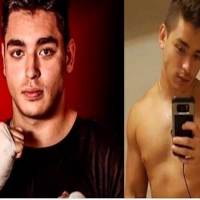 Se filtran fotos desnudo del boxeador homofóbico