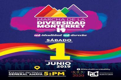 19ª Marcha de la Diversidad Monterrey